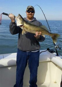 lake erie walleye captain - guided trips on lake erie
