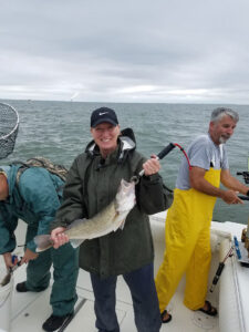 successful lake erie walleye fishermen